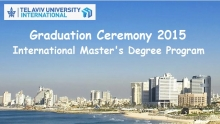 Graduation Ceremony 2015, International Master's Degree Program