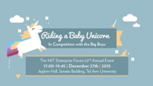 Riding a Baby Unicorn: In Competition with the Big Boys
