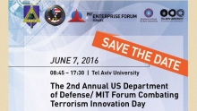 The 2nd Annual US Department of Defense/MIT Forum Combating Terrorism Innovation Day