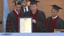 Ban Ki-moon Honorary Degree Ceremony