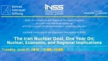 The Iran Nuclear Deal, One Year On: Nuclear, Economic, and Regional Implications