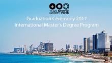 Graduation Ceremony 2017, International Master's Degree Program