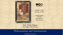 Philosemitism and Antisemitism in Biblical Criticism