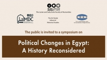 Political Changes in Egypt: A History Reconsidered