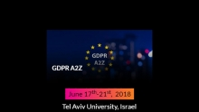 GDPR A2Z:  A training event by the Israel Tech Policy Institute Together with The Privacy Protection Authority and The Future of Privacy Forum