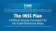 The INSS Plan - A Political Security Framework for the Israeli-Palestinian Arena
