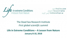 Life in Extreme Conditions: A Lesson from Nature 2019