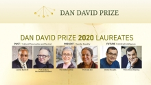 The Announcement of the Dan David Prize Laureates 2020