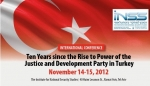 Ten Years since the Rise to Power of the Justice and Development Party in Turkey