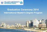 Graduation Ceremony 2014, International Master's Degree Program