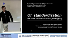 Replicability and Reproducibility of Discoveries in Animal Phenotyping
