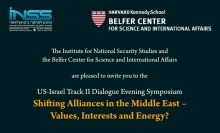 Shifting Alliances in the Middle East –  Values, Interests and Energy?