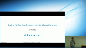 Scaling AI Training Systems with the Gaudi Processor
