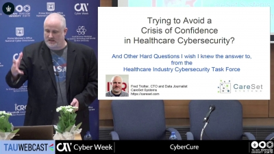 Trying to Avoid a Crisis of Confidence in Healthcare Cybersecurity