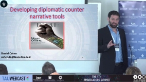 The Diplomatic Arena: Developing counter narrative tools
