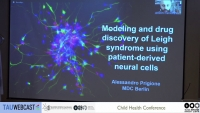 Modeling and drug discovery of Leigh syndrome using patient-derived neural cells
