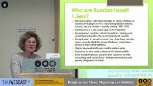 Generation 1.5 of Russian Israelis: Identity and Social Mobility