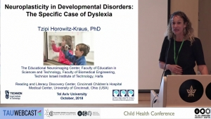 Neuroplasticity in developmental disorders: the specific case of dyslexia
