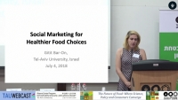 Social Marketing for Healthier Food Choices