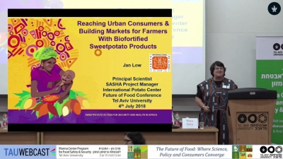 Reaching Urban Consumers & Buliding Markets for Farmers with Biofortified Sweetpotato Products