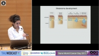 Bidirectional communication of melanoma with the micro environment