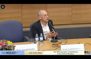 Prof. Ezekiel Emanuel in Conversation with Prof. Shai Lavi