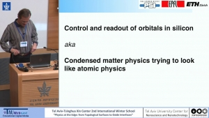 Control and Readout of Orbitals in Silicon