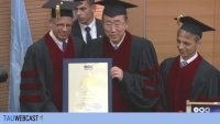 Awarding of the George S. Wise Medal to His Excellency Ban Ki-Moon - Secretary-General of the UN