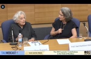 Baroness Mary Warnock in Conversation with Prof. Yael Hashiloni-Dolev