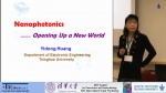 Nanophoonics to Opening Up a New World: Prof. Yidong Huang