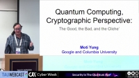 Quantum Computing, a Cryptographic Perspective: the Good, the Bad, and the Cliche