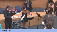 Musical Interlude with members of the Gertler String Quartet