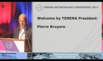 Welcome Words by the TERENA President