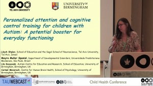 Personalized attention and cognitive control training for children with Autism: A potential booster for everyday functioning