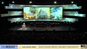 Dan David Prize Award Ceremony