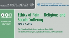 Ethics of Pain – Religious and Secular Suffering