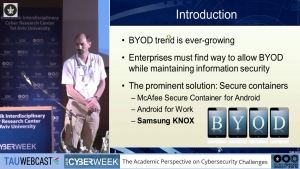 Secure Containers in Android: the Samsung KNOX Case Study
