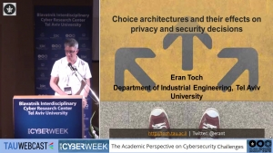Choice Architectures and Their Effects on Privacy and Security Decisions