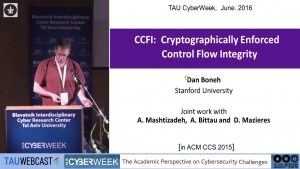 Cryptographic Enforced Control Flow Integrity