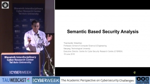 Semantic Based Security Analysis