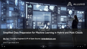 Simplified Data Preparation for Machine Learning n Hybrid and Multi Clouds